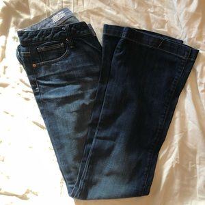 Gap Long and Lean flare jean / dark wash